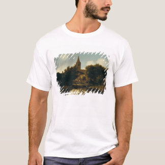 Wooded Landscape with Figures near a Church T-Shirt