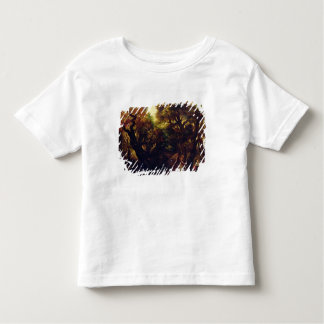 Wooded Landscape with Hagar and the Angel Toddler T-shirt
