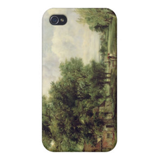 Wooded river landscape iPhone 4/4S case