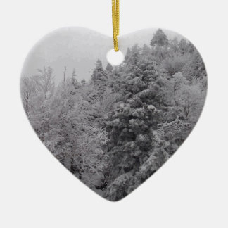 Wooded Slopes Christmas Tree Ornament