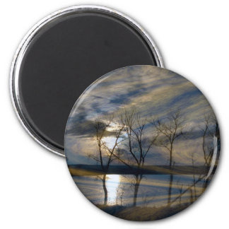 Woodeffect 2 Inch Round Magnet