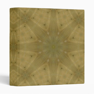 Wooden abstract pattern binder