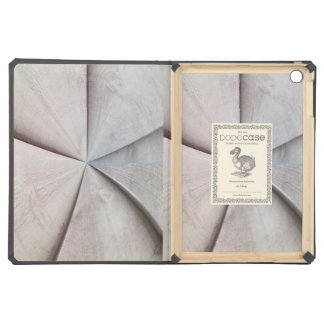 Wooden abstract pattern case for iPad air
