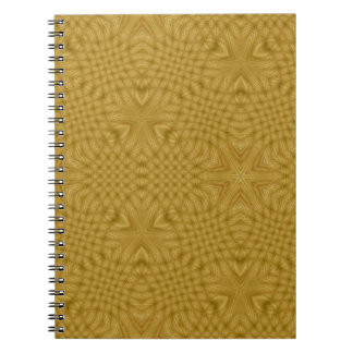 Wooden abstract pattern spiral note books