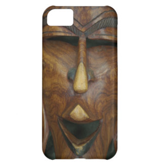 Wooden African mask iPhone 5C Case