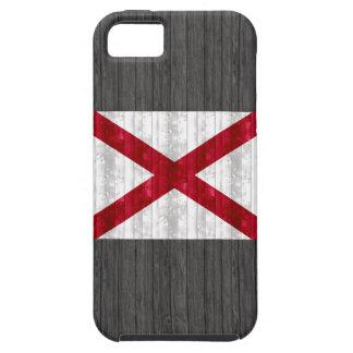 Wooden Alabaman Flag iPhone SE/5/5s Case