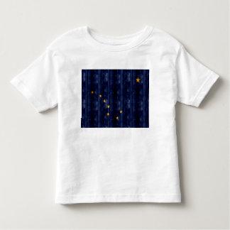 Wooden Alaskan Flag Toddler T-shirt
