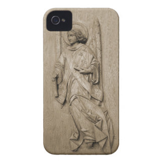Wooden Angel Relief iPhone 4 Cover