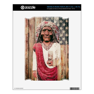 Wooden Antique Cigar Store Indian Decals For NOOK