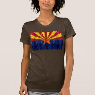 Wooden Arizonan Flag T Shirts