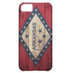 Wooden Arkansas Flag iPhone 5C Cases