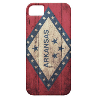 Wooden Arkansas Flag iPhone SE/5/5s Case