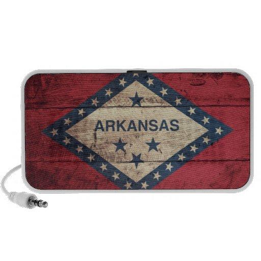 Wooden Arkansas Flag Speaker