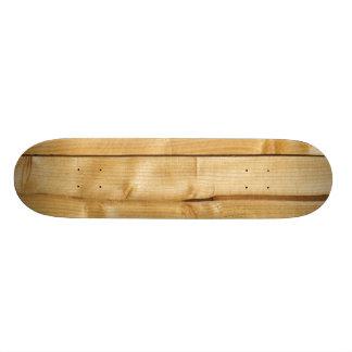 Wooden Background Skateboards