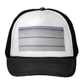 wooden background trucker hat