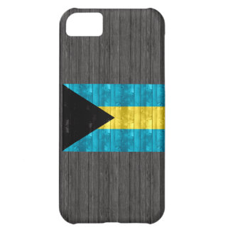 Wooden Bahamian Flag iPhone 5C Case