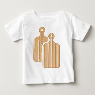 Wooden Bamboo cutting boards Baby T-Shirt