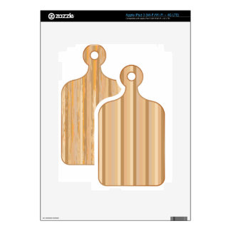 Wooden Bamboo cutting boards Skins For iPad 3