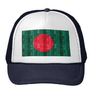 Wooden Bangladeshi Flag Trucker Hat