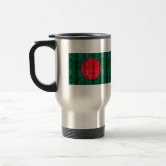 Wooden Bangladeshi Flag Travel Mug