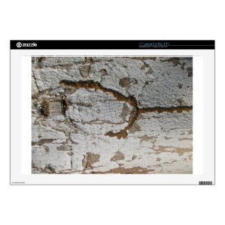 """Wooden Bark 17"""" Laptop Skin"""