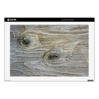 Wooden Bark Laptop Decal
