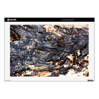 Wooden Bark Laptop Decals