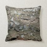 Wooden Bark Pillow