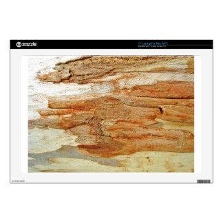 """Wooden Bark Skin For 17"""" Laptop"""