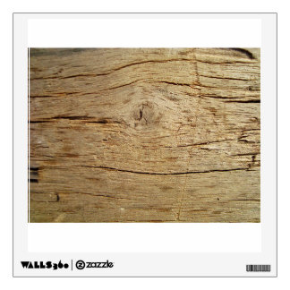 Wooden Bark Wall Decal