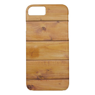 Wooden Barks, Wooden Boards, Planks - Brown iPhone 7 Case