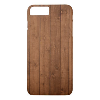 Wooden Barks, Wooden Boards, Planks - Brown iPhone 7 Plus Case
