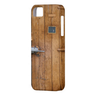 """""""Wooden Barn Door"""" iPhone 5/5S, Barely There iPhone 5 Cover"""