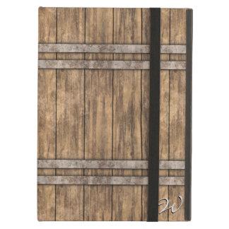 Wooden Barrel Art 1 Case For iPad Air