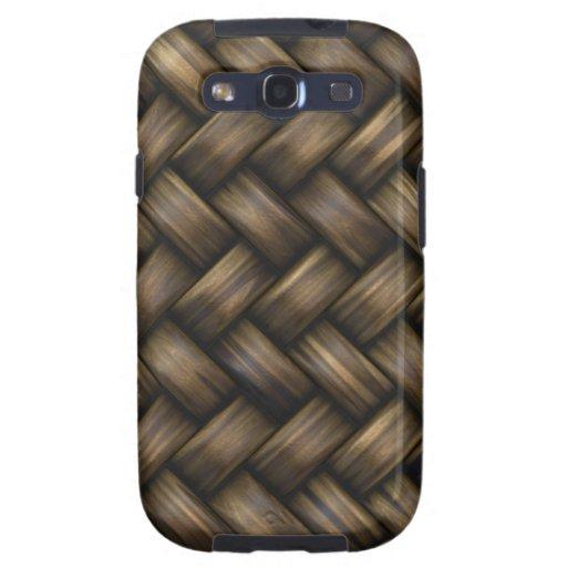 Wooden Basket Weave Samsung Galaxy S3 Case