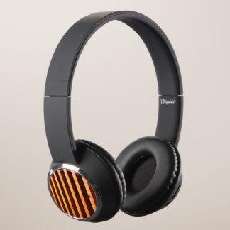 Wooden beams headphones