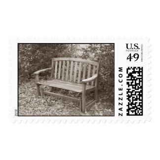 Wooden Bench Stamp