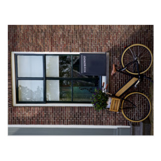 Wooden Bicycle Postcard
