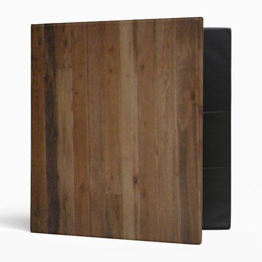 Wooden Binder