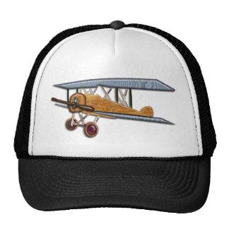 Wooden Biplane Trucker Hat