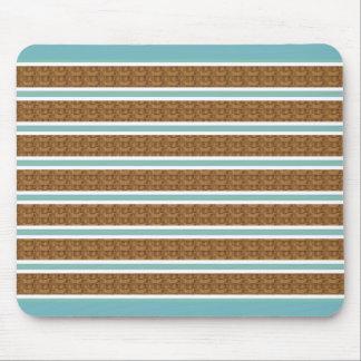 Wooden Blinds-Blue_Serene_Unisex Mouse Pad