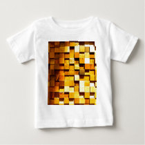 Wooden Blocks Pattern Baby T-Shirt