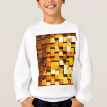 Wooden Blocks Pattern Sweatshirt