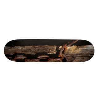 Wooden Board with Chain Custom Skate Board