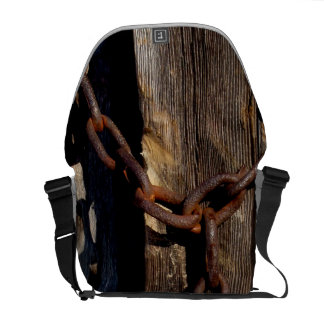 Wooden Board with Chain Courier Bags