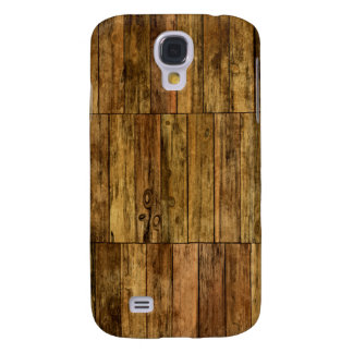 Wooden Boards Wood Panel Effect Galaxy S4 Case