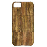 Wooden Boards Wood Panel Effect iPhone 5C Cases
