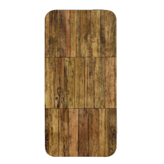 Wooden Boards Wood Panel iPhone 5 Pouch