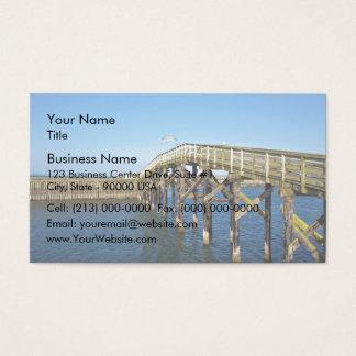 Wooden Boardwalk Business Card