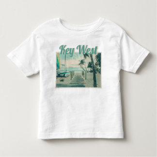 Wooden Boardwalk onto Smathers Beach, Key West FL Toddler T-shirt